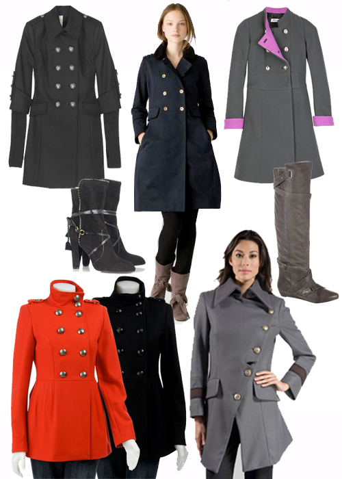 BrandHabit: Stand Tall with Military Inspired Coats for Fall