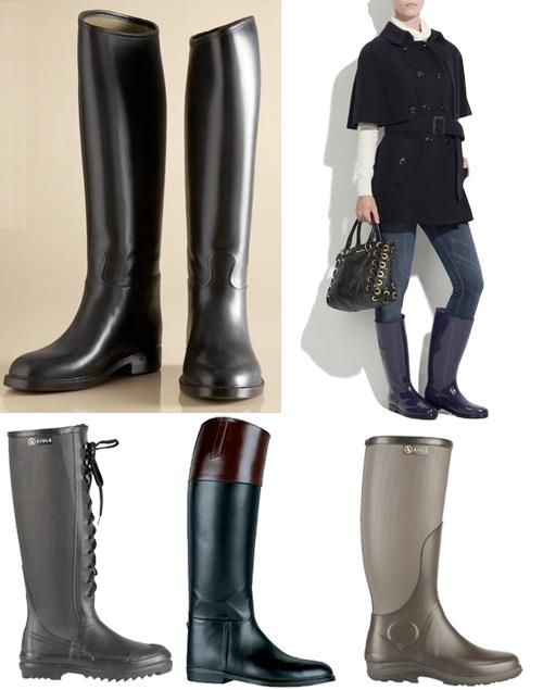 Aigle-rain-boots