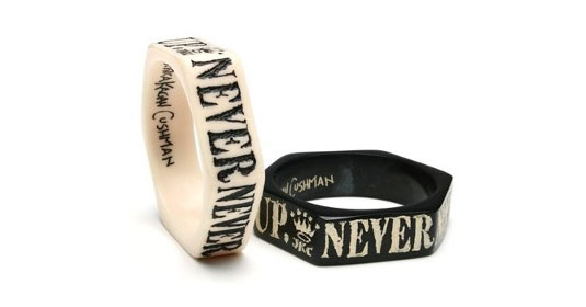 Never-give-up-bracelets