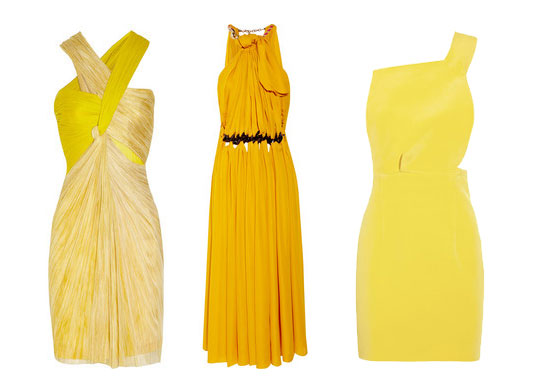 Yellow-dresses