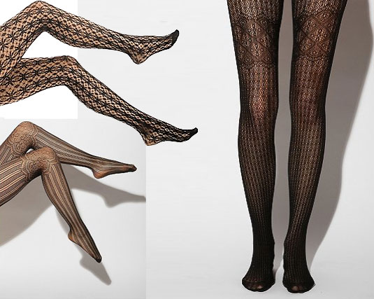 26ad6908b8621 Put a little pattern into your life by mixing up your plain black tights  with a selection of patterned ones. The right patterned tights will easily  add ...